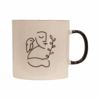 Mug Augusto peaceful bird