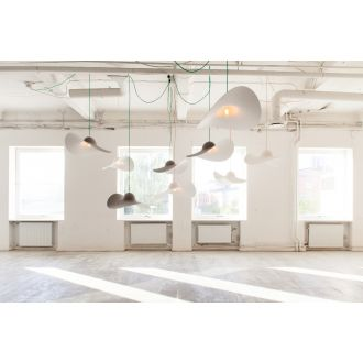 HAT LAMP: SUSPENSION Gris