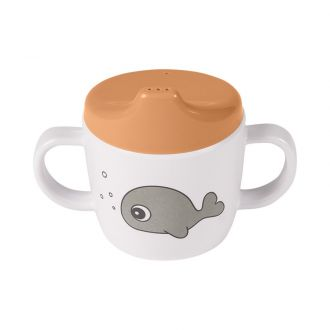 Tasse d'apprentissage - Sea friends Moutarde