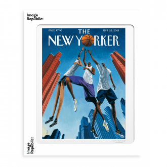 Affiche The Newyorker ulriksen basketball 56x76cm