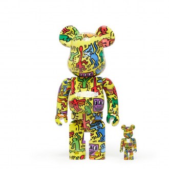 Bearbrick 100+400% Keith Haring #5