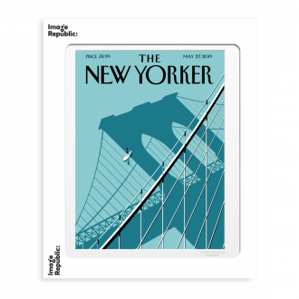 Affiche The Newyorker summer hours 56x76cm