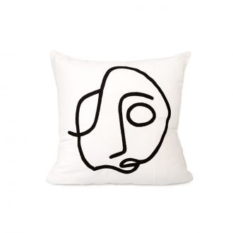Coussin Oneline Sam Broderie