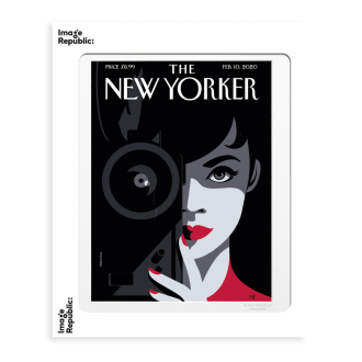 Affiche The Newyorker Favre Behind the lens 10 fevrier 2020