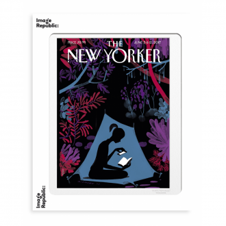 Affiche The Newyorker Niemann Enchanted forest 5 juin 2017