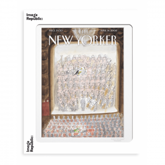 Affiche The New Yorker Sempe Without skippin 14 april 2008 - 30 x 40 cm