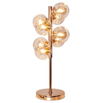 Lampe de table Splendor Gold/Amber