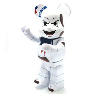 Figurine Bearbrick Stay Puft Marshmallow Man Anger Face