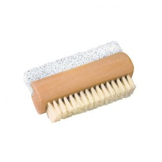 Brosse ongles avec pierre ponce