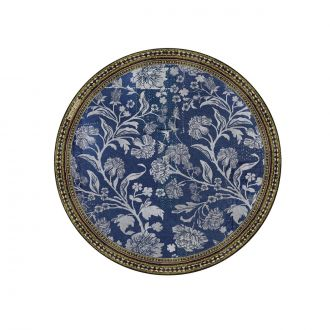 Set de table Bohemian Garden Bleu 38cm
