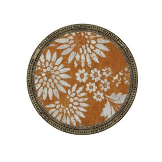 Set de table Bohemian Garden Orange 38cm