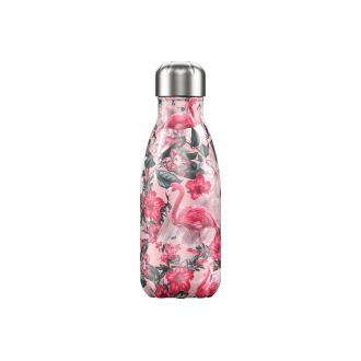 Bouteille isotherme Tropical flammand rose 260 ml