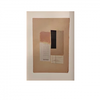 Affiche Blush Abstract