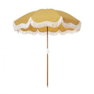 Parasol de Plage Holiday Vintage Or