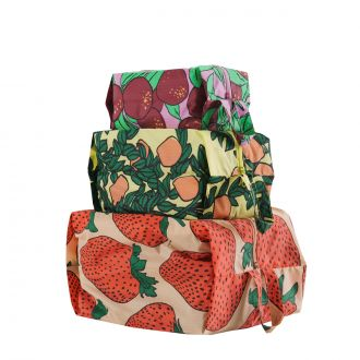 Set de 3 pochettes - Backyard Fruit