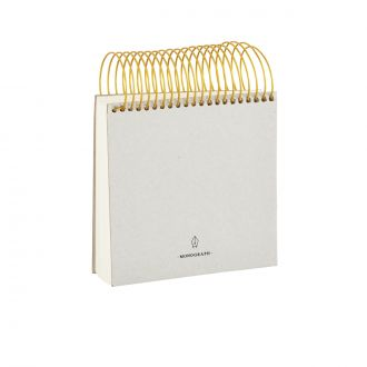 Bloc-notes Monograph - 14 x 14 cm