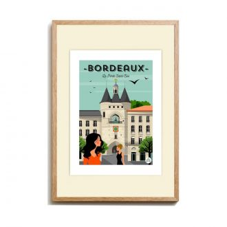 Affiche Bordeaux Douce France
