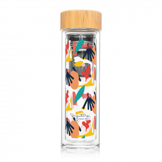 Bouteille Infuseur Nomade 400ml Abstrait