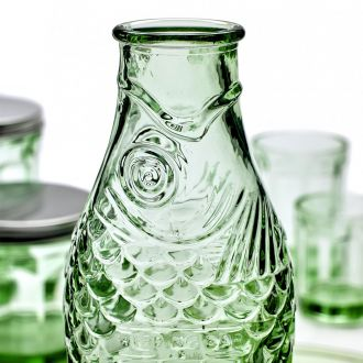 Bouteille Poisson Vert by Paola Navone