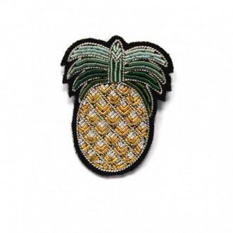 Broche Ananas Or