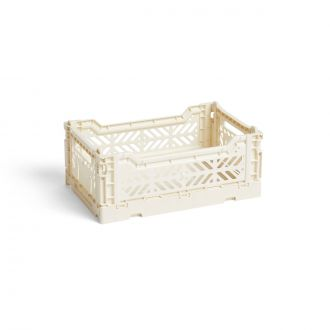 Caisse Crate S Blanc crème / Off white
