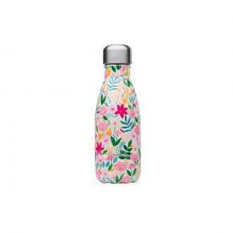 Bouteille Isotherme Flora Rose 260 ml