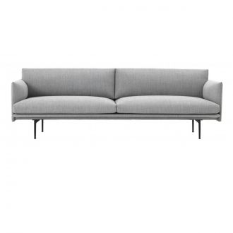 OUTLINE SOFA / 3-SEATER - FIORD 151