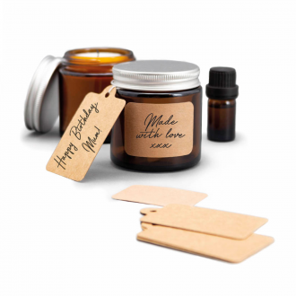 Kit de bougie calm club wax & wick
