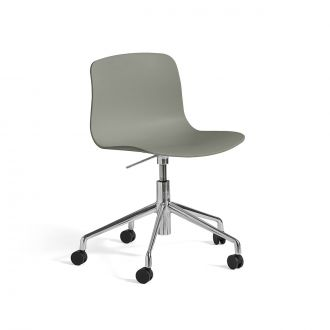 Chaise de bureau AAC50 Aluminium Poli Dusty Green