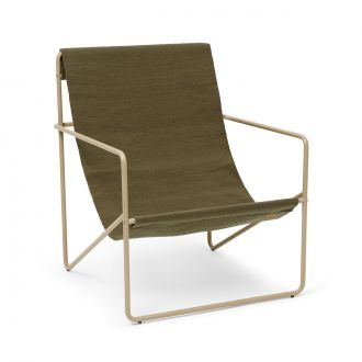 Chaise Lounge Desert Cashmere / Olive