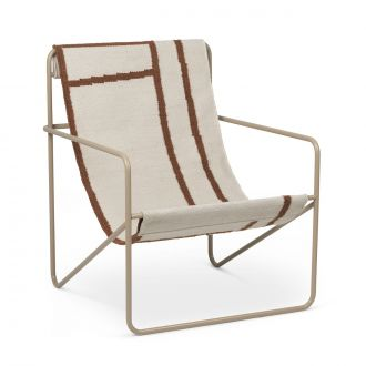 Chaise Lounge Desert Cashmere / Shapes