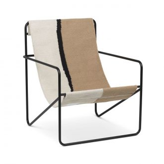 Chaise Lounge Desert Black / Soil