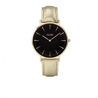 Montre Metallic La Bohème Gold Black/Gold