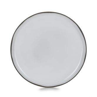 ASSIETTE PLATE CARACTERE 26CM Blanc Cumulus MADE IN FRANCE