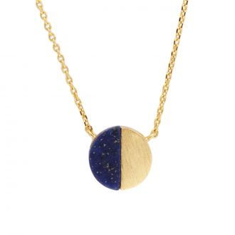 Collier Galaxy Moon C - Bleu