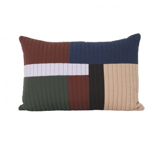 Coussin Shay Quilt Cannelle GM - 40 x 60 cm