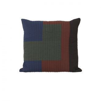 Coussin Shay Quilt Cannelle PM - 50 x 50 cm