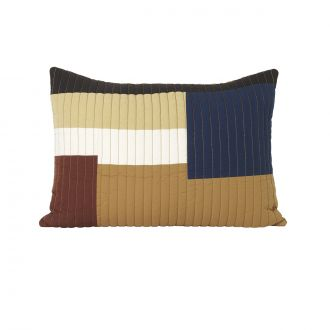 Coussin Shay Quilt Moutarde GM
