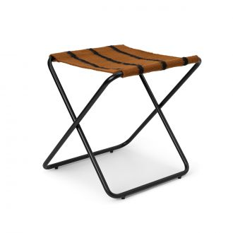 Tabouret Desert Stool Black/Stripe
