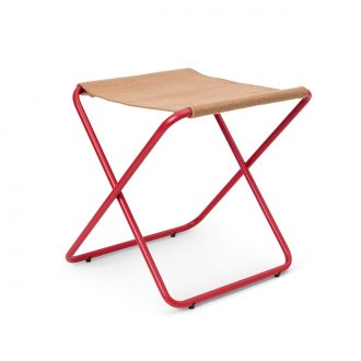 Tabouret Desert Stool Poppy Red/Sand