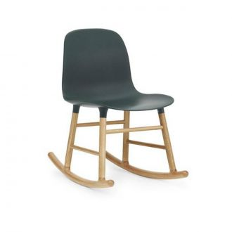 FORM ROCKING CHAIR PIEDS EN CHàNE Vert