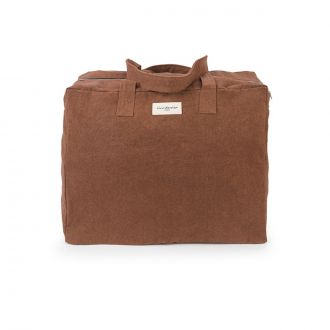 ELZEVIR THE WEEKEND BAG Brown jasper