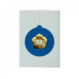 Carte de voeux Christmas Flower