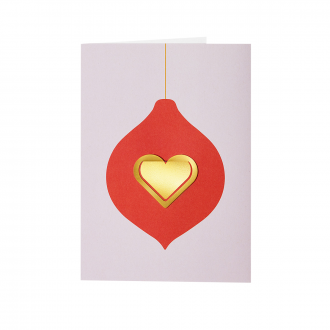 Carte de voeux Christmas Heart