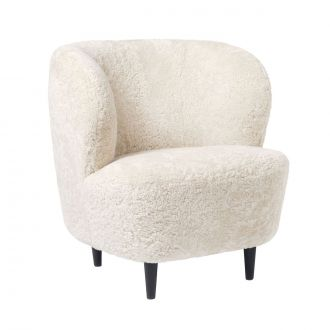 Fauteuil Stay Fully Upholstered Chêne noir
