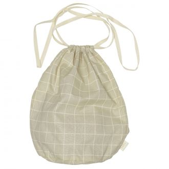 Sac Multi L Gris Check