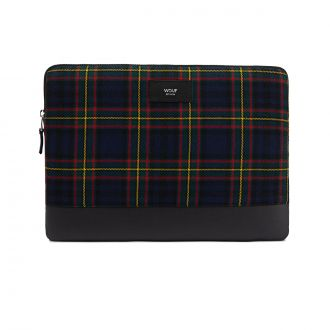"Housse Macbook 13"" Navy Scotland"