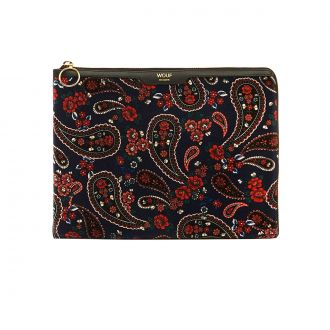 "Housse Macbook 13"" Blue Paisley"