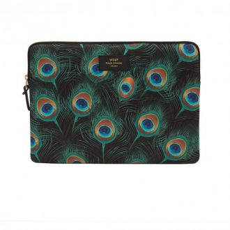 "Housse Macbook 13"" Peacock"