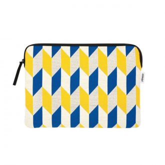 "Pochette Macbook Pro 13"" Optical Flag Moutarde"